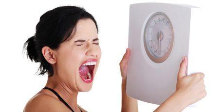 علت ثابت ماندن وزن